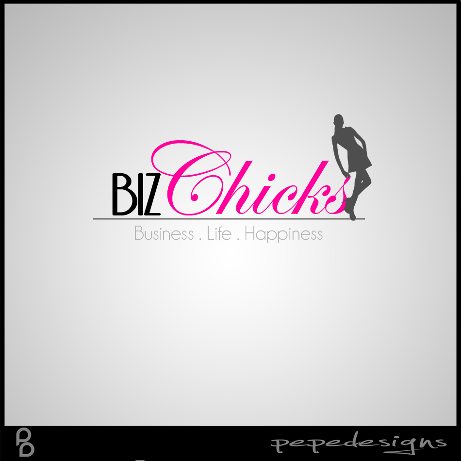 Logo Design by Joseph Neal Lacatan - Entry No. 81 in the Logo Design Contest BizChicks e-magazine.