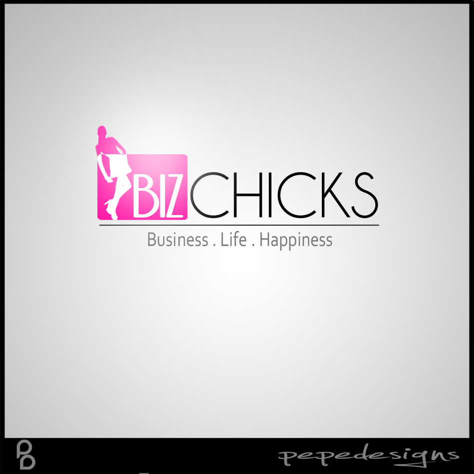 Logo Design by Joseph Neal Lacatan - Entry No. 82 in the Logo Design Contest BizChicks e-magazine.
