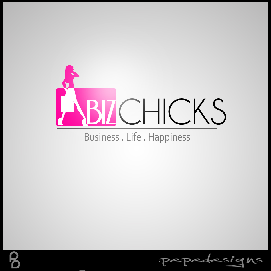Logo Design by Joseph Lemuel Lacatan - Entry No. 83 in the Logo Design Contest BizChicks e-magazine.