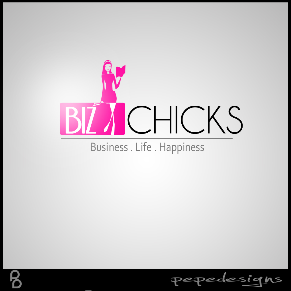 Logo Design by Joseph Neal Lacatan - Entry No. 84 in the Logo Design Contest BizChicks e-magazine.