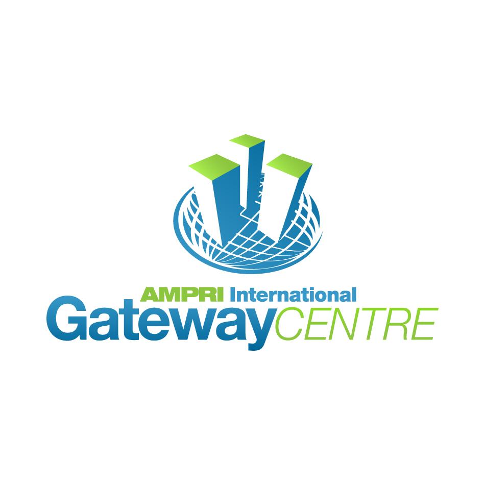 Logo Design by RetroMetro_Steve - Entry No. 12 in the Logo Design Contest Ampri International Gateway Centre (AIGC).
