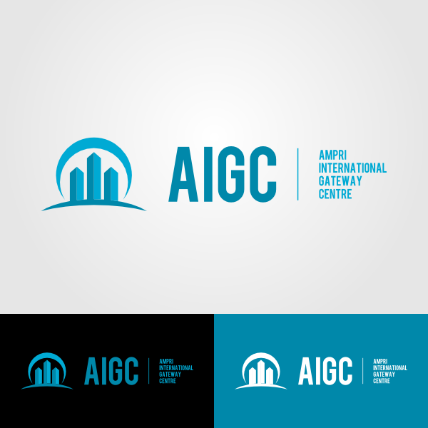 Logo Design by Andrean Susanto - Entry No. 13 in the Logo Design Contest Ampri International Gateway Centre (AIGC).