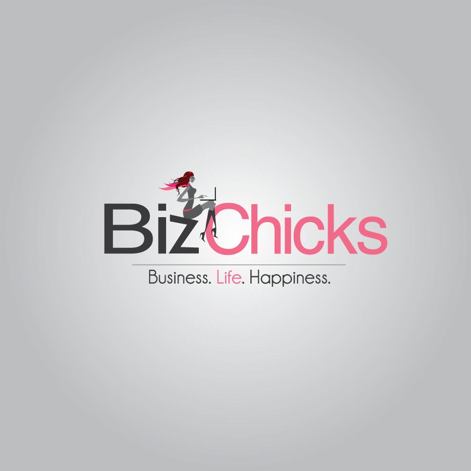 Logo Design by moonflower - Entry No. 92 in the Logo Design Contest BizChicks e-magazine.