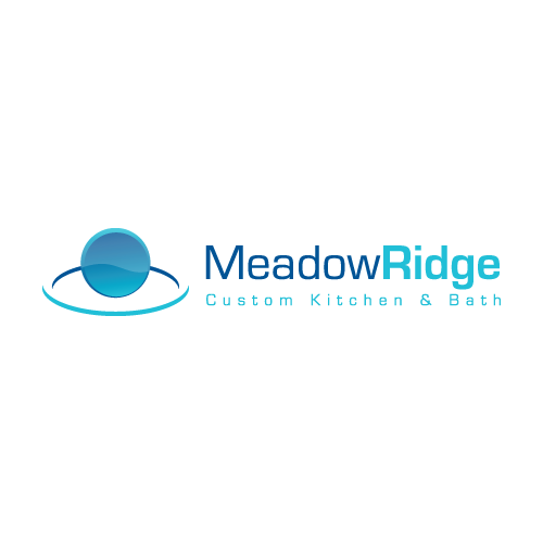 Logo Design by balarea - Entry No. 5 in the Logo Design Contest Meadow Ridge Custom Kitchen & Bath.