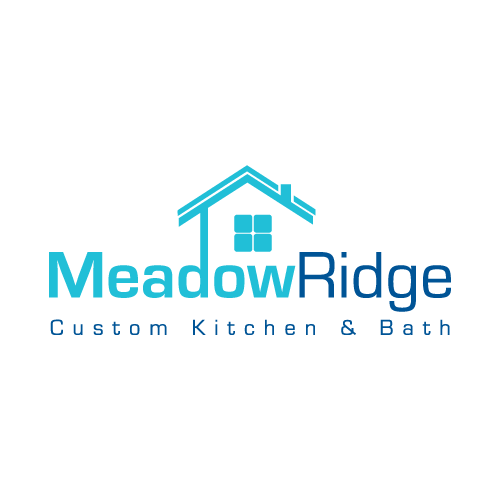 Logo Design by balarea - Entry No. 6 in the Logo Design Contest Meadow Ridge Custom Kitchen & Bath.