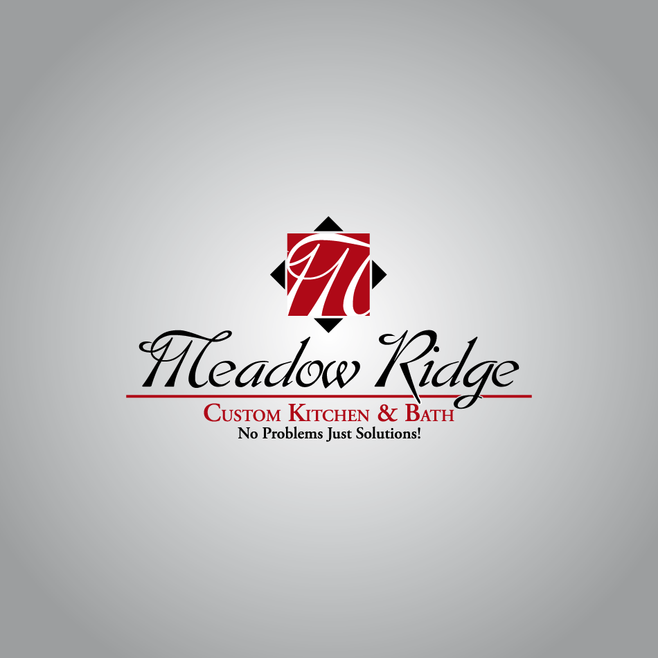 Logo Design by Gmars - Entry No. 16 in the Logo Design Contest Meadow Ridge Custom Kitchen & Bath.