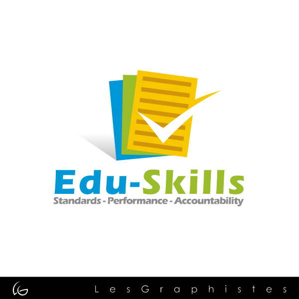Logo Design by Les-Graphistes - Entry No. 2 in the Logo Design Contest Edu-Skills.