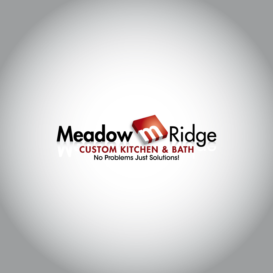 Logo Design by Gmars - Entry No. 17 in the Logo Design Contest Meadow Ridge Custom Kitchen & Bath.