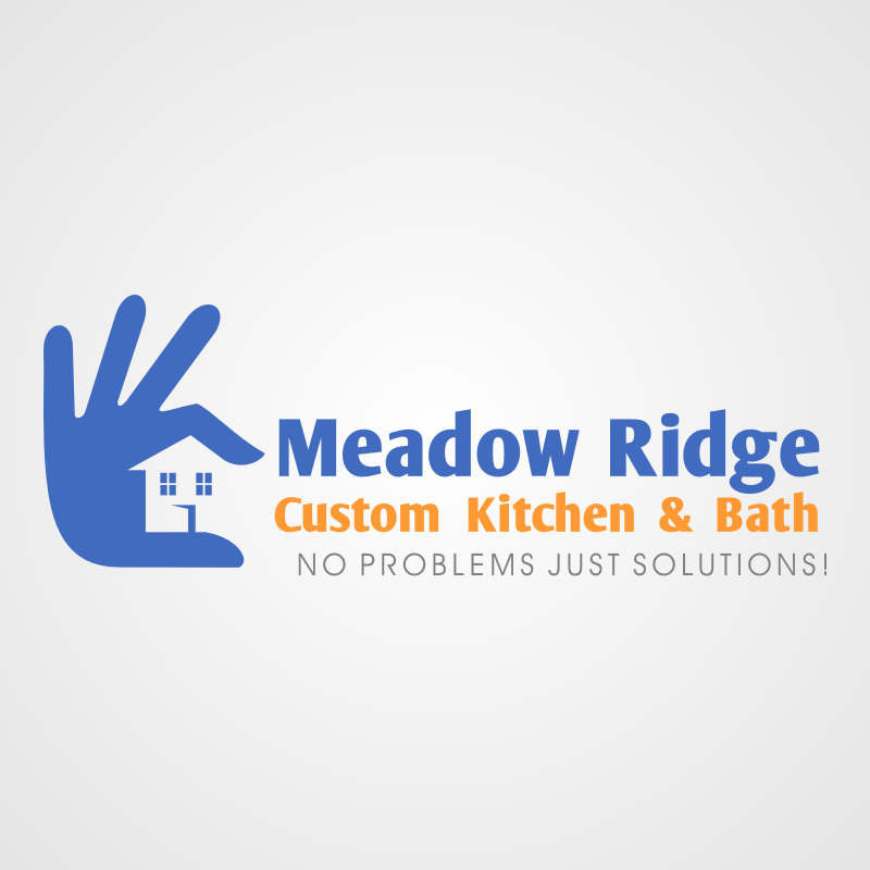 Logo Design by Rudy - Entry No. 19 in the Logo Design Contest Meadow Ridge Custom Kitchen & Bath.