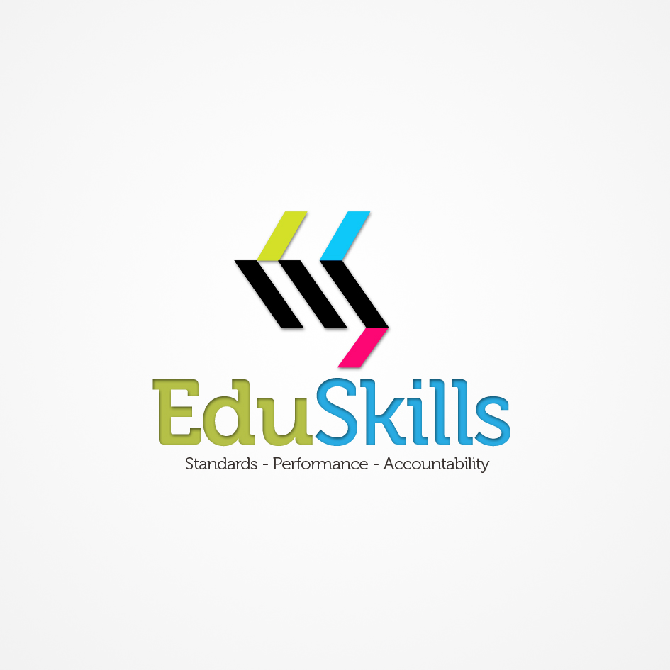 Logo Design by aerodynamics - Entry No. 7 in the Logo Design Contest Edu-Skills.