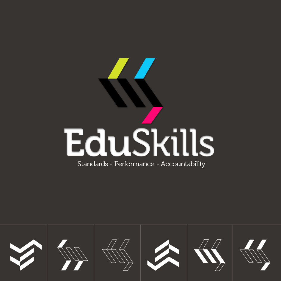 Logo Design by aerodynamics - Entry No. 8 in the Logo Design Contest Edu-Skills.