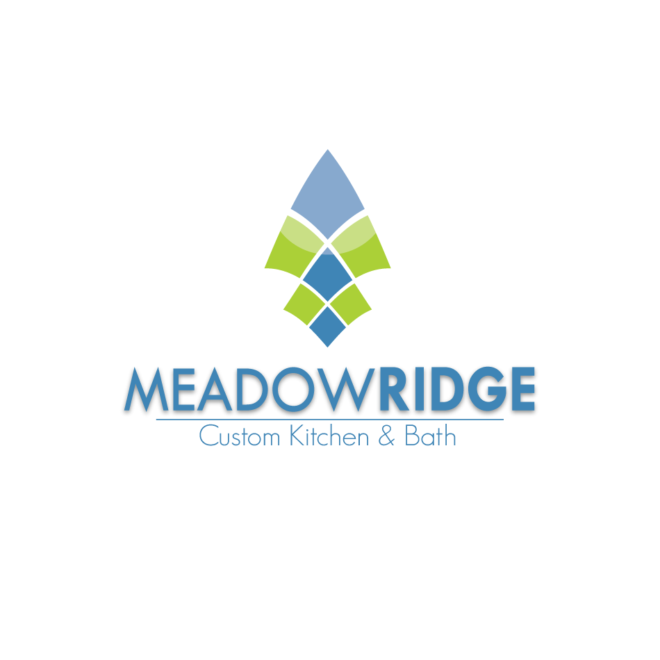 Logo Design by moonflower - Entry No. 30 in the Logo Design Contest Meadow Ridge Custom Kitchen & Bath.