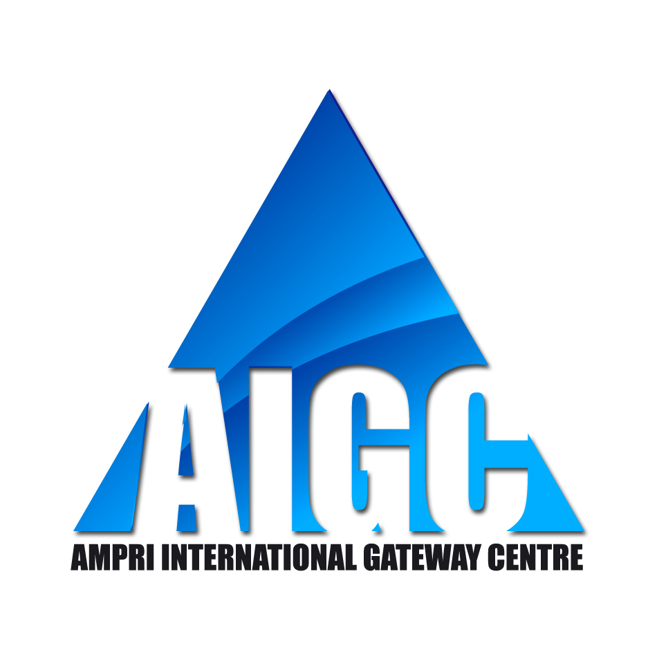 Logo Design by XYBER9-design - Entry No. 19 in the Logo Design Contest Ampri International Gateway Centre (AIGC).