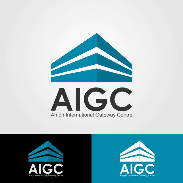 Logo Design by Andrean Susanto - Entry No. 21 in the Logo Design Contest Ampri International Gateway Centre (AIGC).