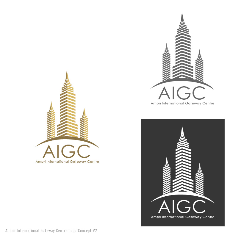 Logo Design by chadtulio - Entry No. 27 in the Logo Design Contest Ampri International Gateway Centre (AIGC).