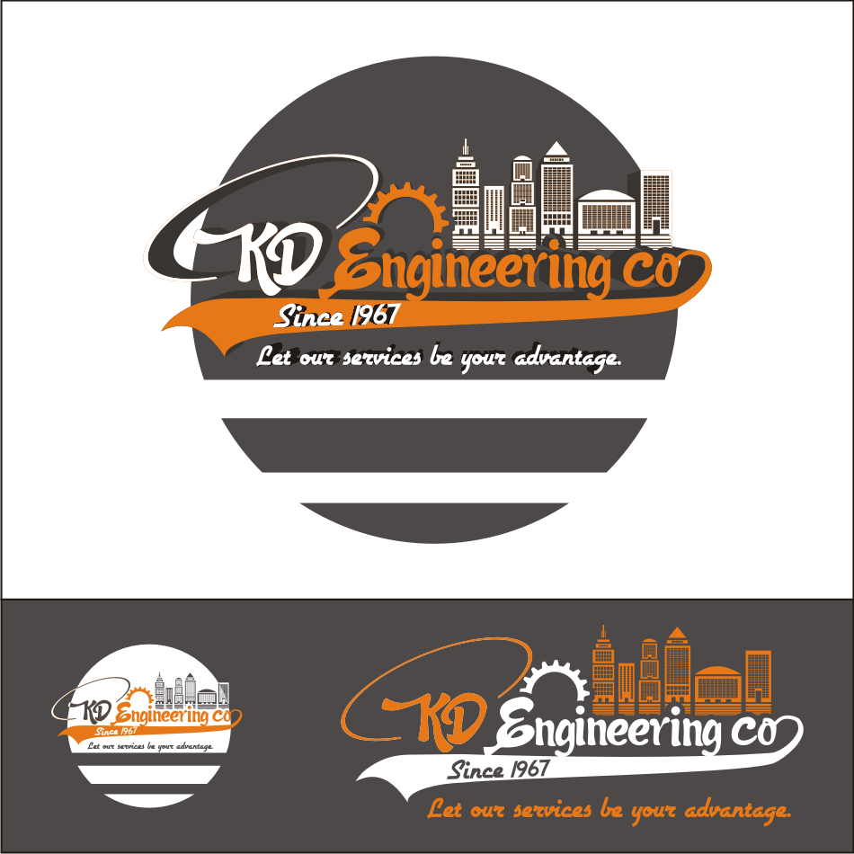 Logo Design by vector.five - Entry No. 89 in the Logo Design Contest KD Engineering Co..