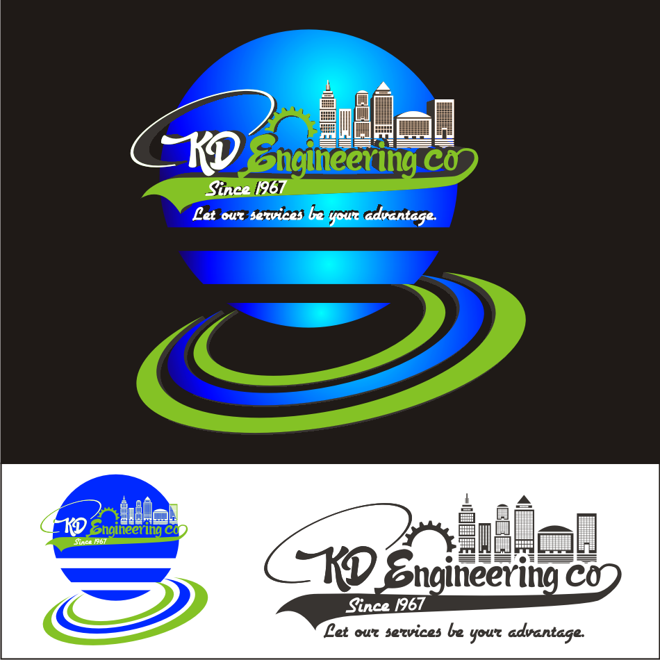 Logo Design by vector.five - Entry No. 91 in the Logo Design Contest KD Engineering Co..