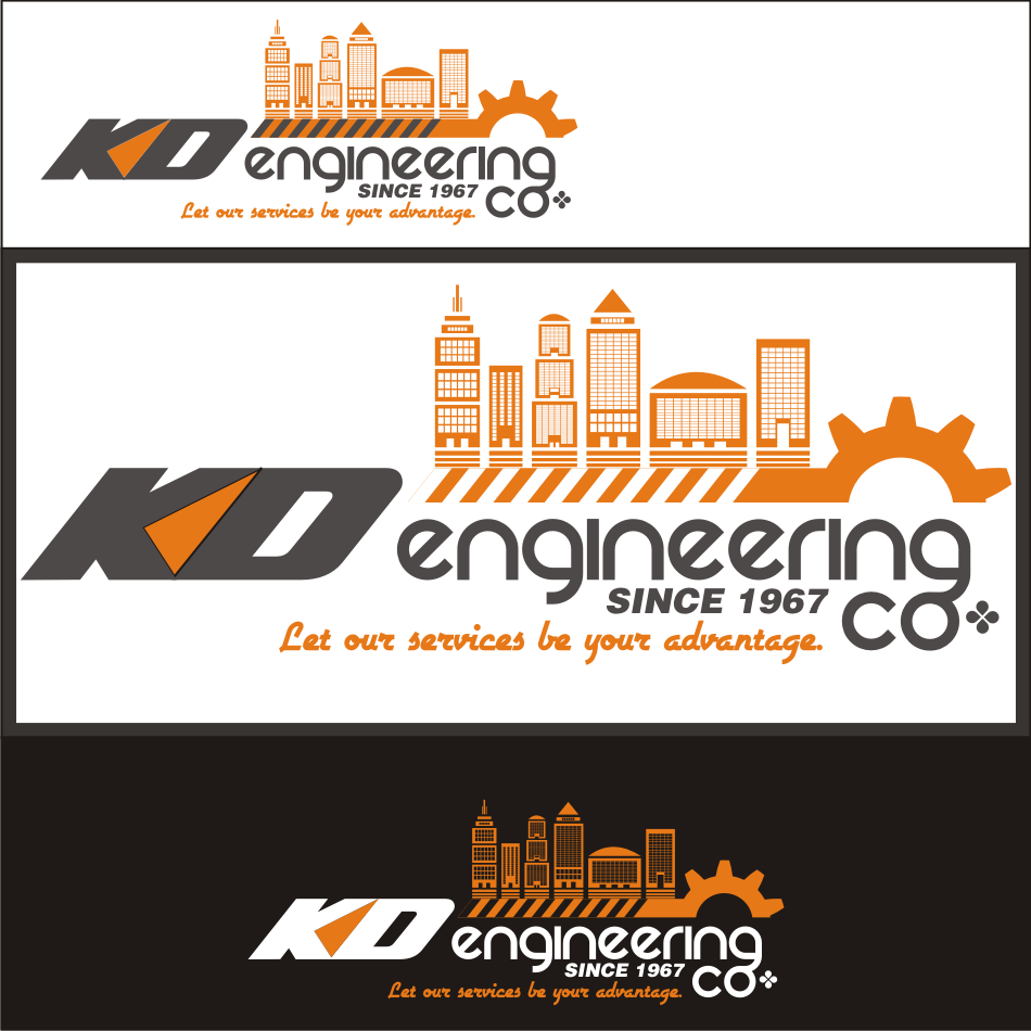 Logo Design by vector.five - Entry No. 93 in the Logo Design Contest KD Engineering Co..