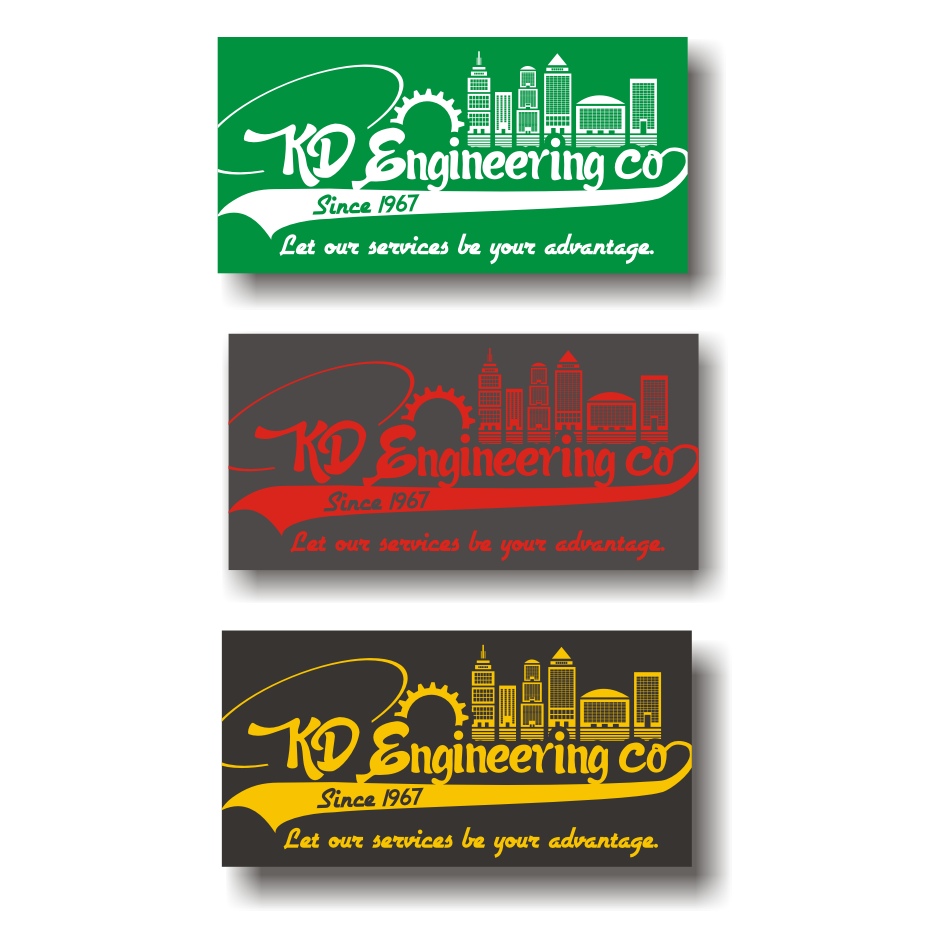 Logo Design by vector.five - Entry No. 95 in the Logo Design Contest KD Engineering Co..