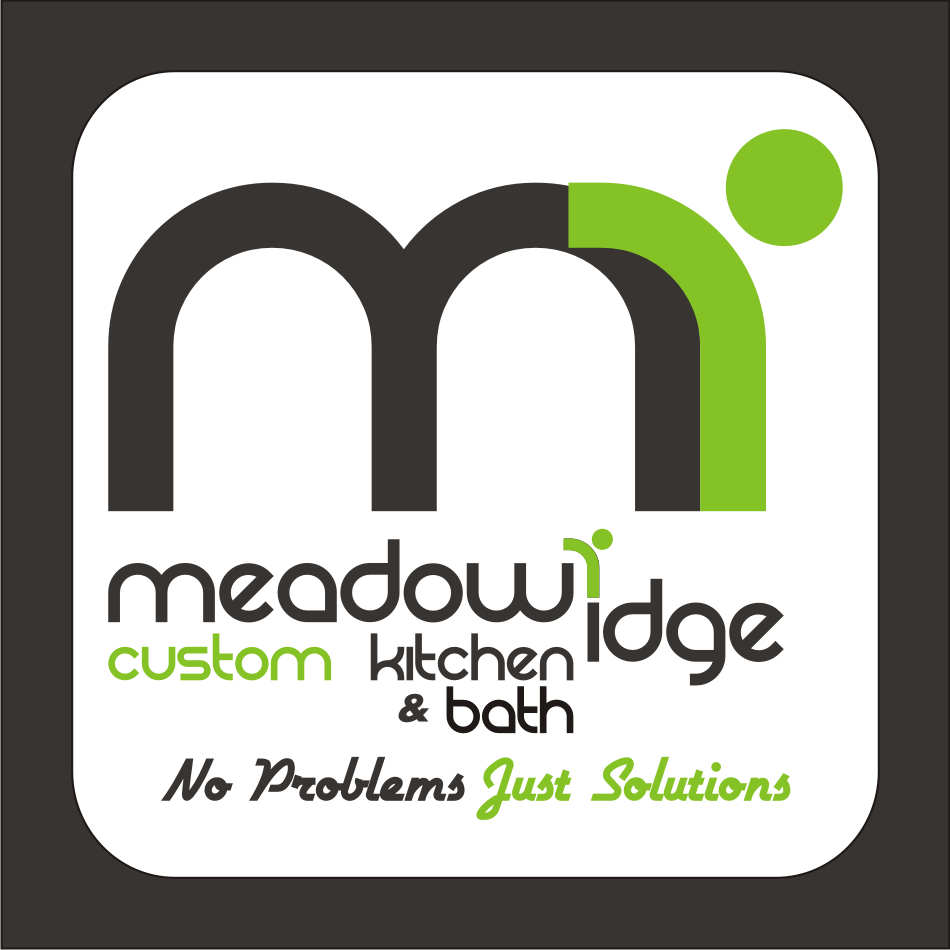 Logo Design by vector.five - Entry No. 54 in the Logo Design Contest Meadow Ridge Custom Kitchen & Bath.