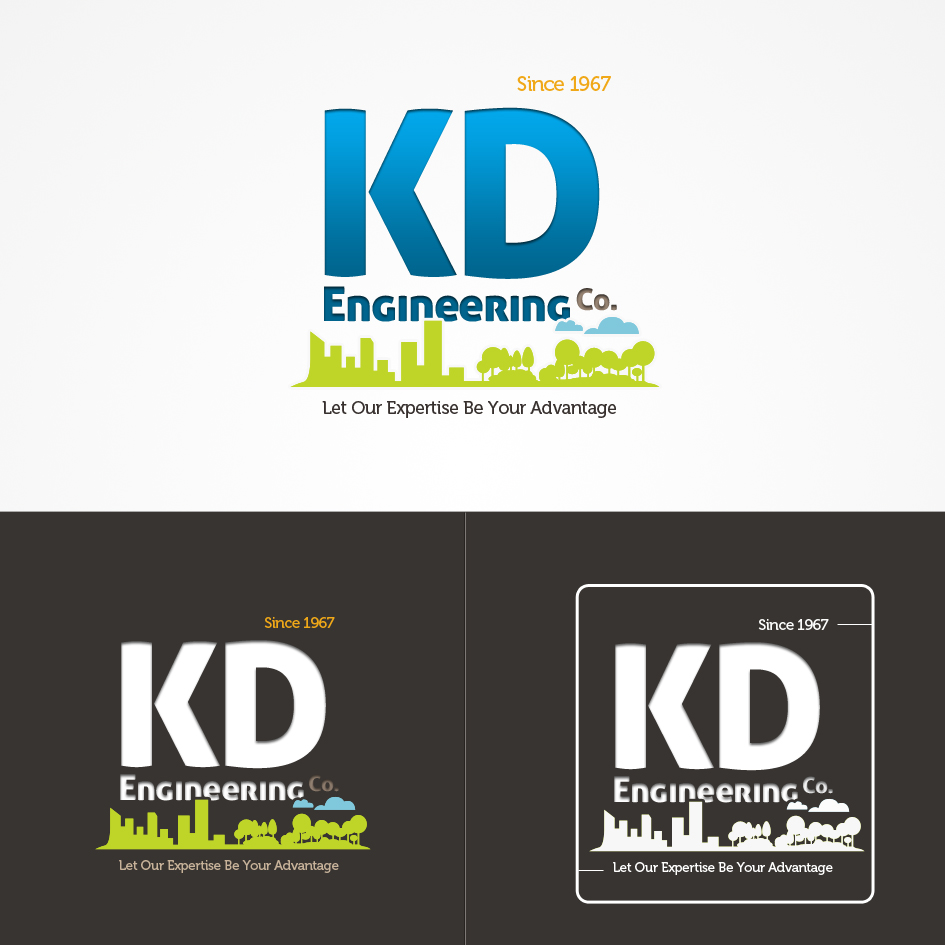 Logo Design by aerodynamics - Entry No. 106 in the Logo Design Contest KD Engineering Co..