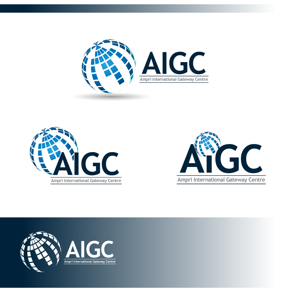 Logo Design by zesthar - Entry No. 34 in the Logo Design Contest Ampri International Gateway Centre (AIGC).