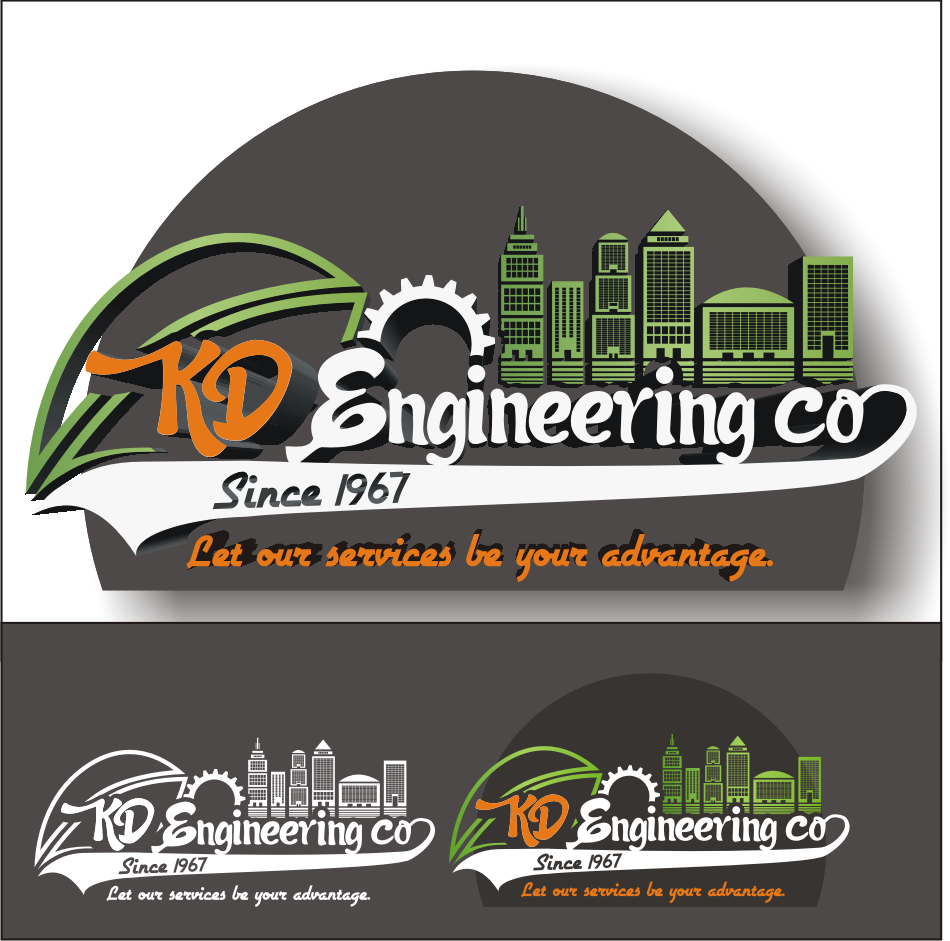 Logo Design by vector.five - Entry No. 114 in the Logo Design Contest KD Engineering Co..