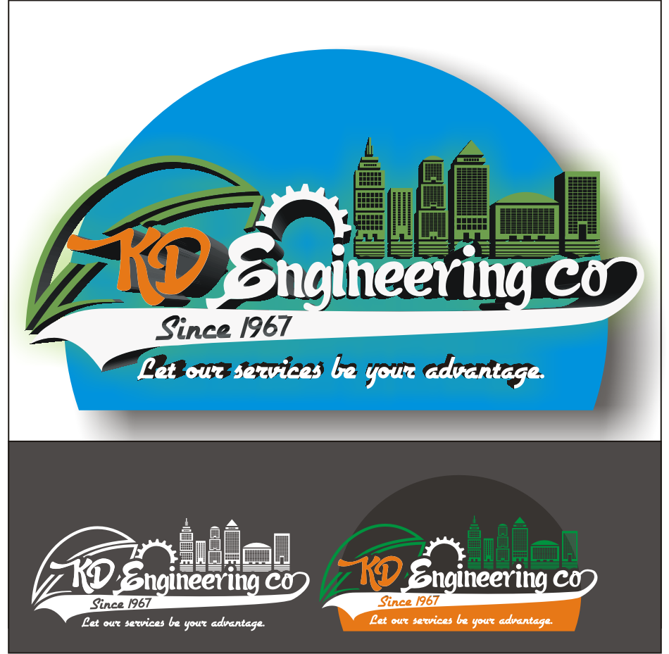 Logo Design by vector.five - Entry No. 115 in the Logo Design Contest KD Engineering Co..
