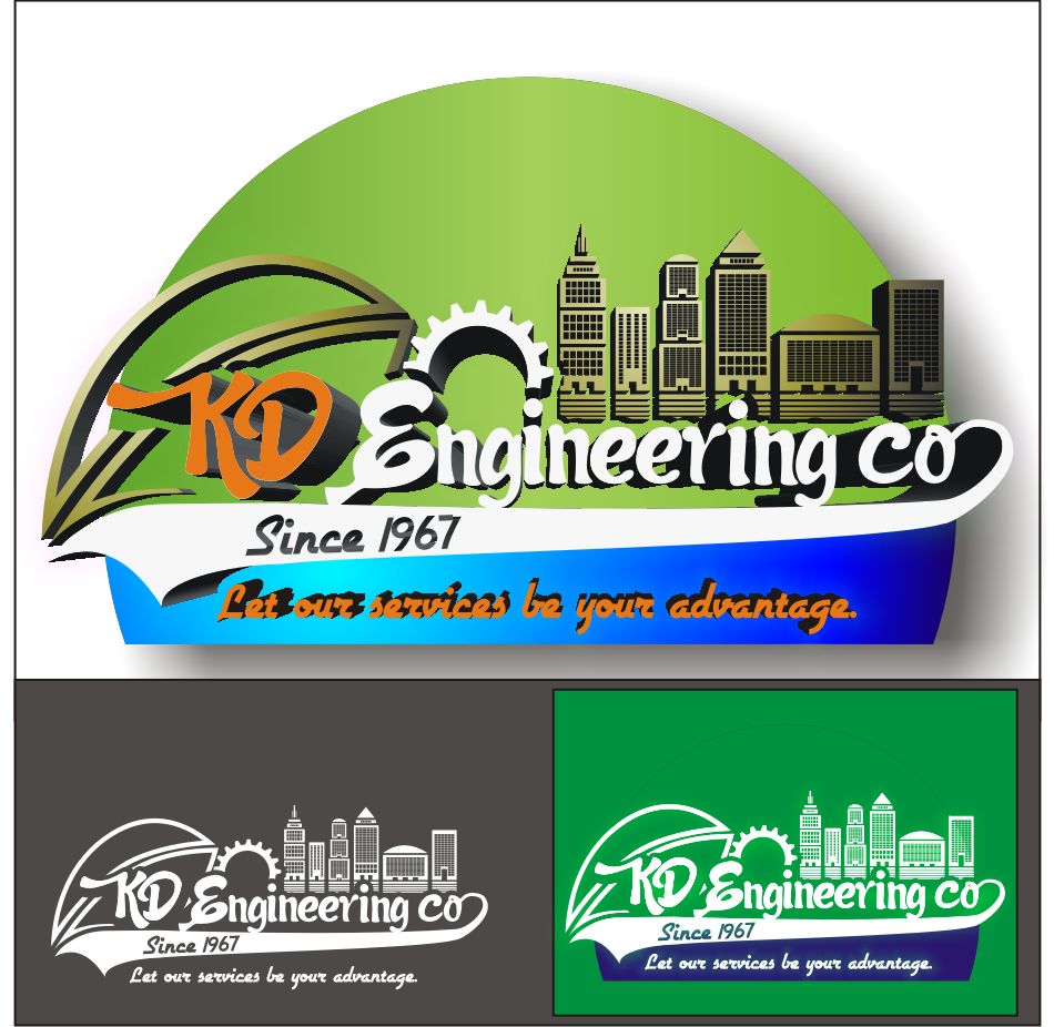 Logo Design by vector.five - Entry No. 116 in the Logo Design Contest KD Engineering Co..