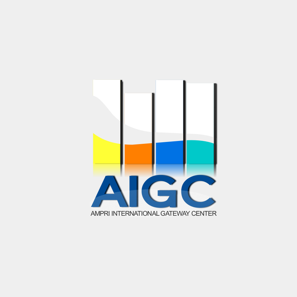 Logo Design by luwabu - Entry No. 35 in the Logo Design Contest Ampri International Gateway Centre (AIGC).