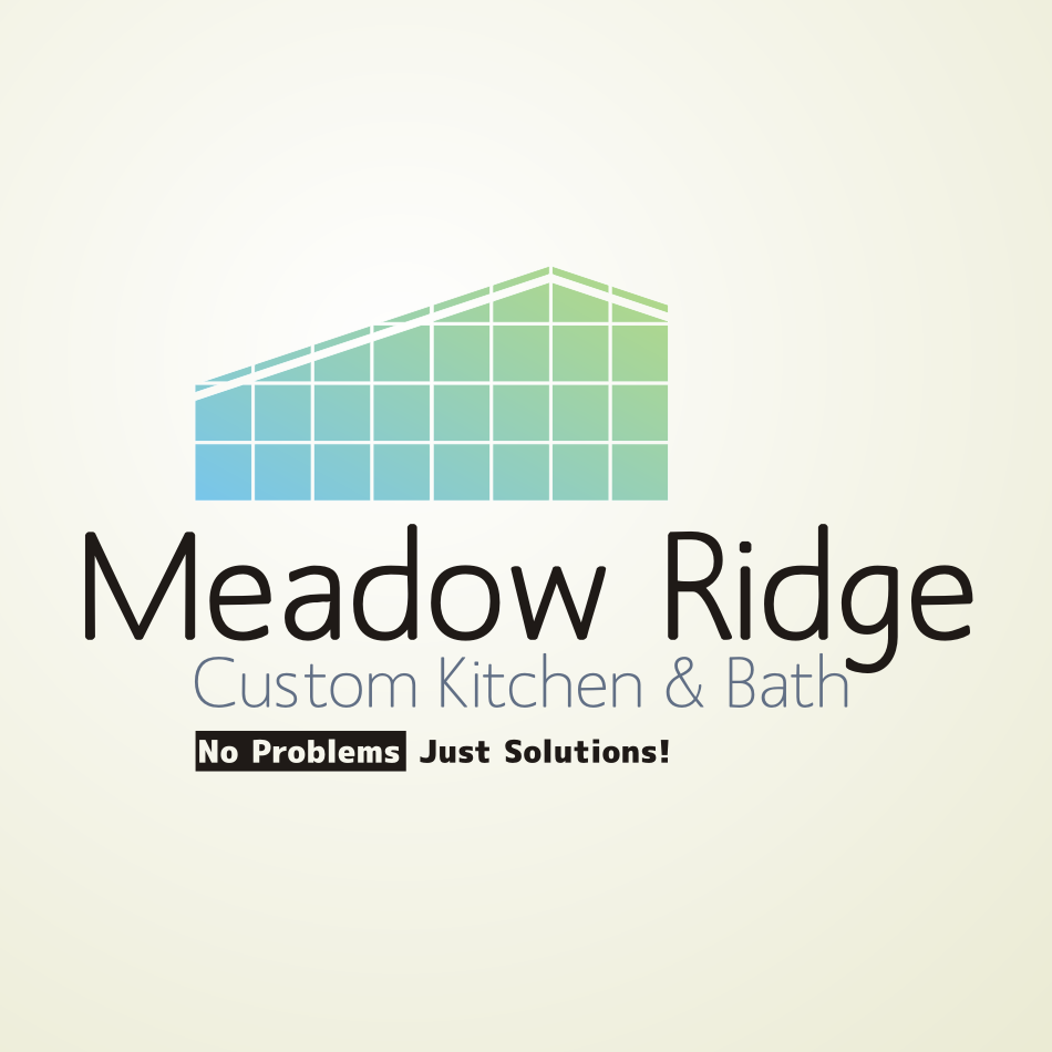 Logo Design by Autoanswer - Entry No. 64 in the Logo Design Contest Meadow Ridge Custom Kitchen & Bath.