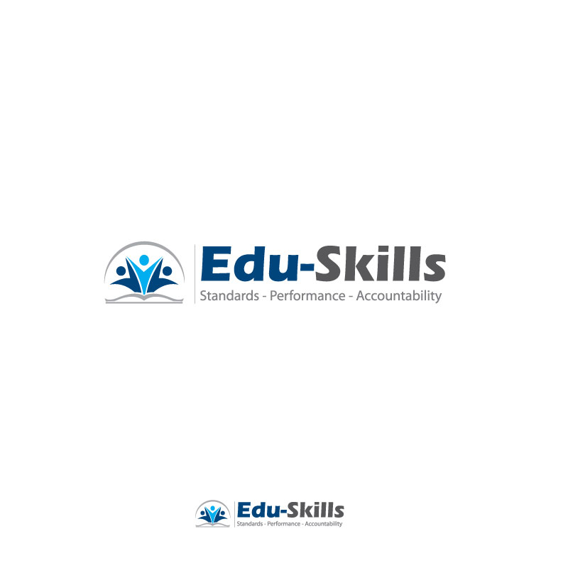 Logo Design by logoziner - Entry No. 58 in the Logo Design Contest Edu-Skills.