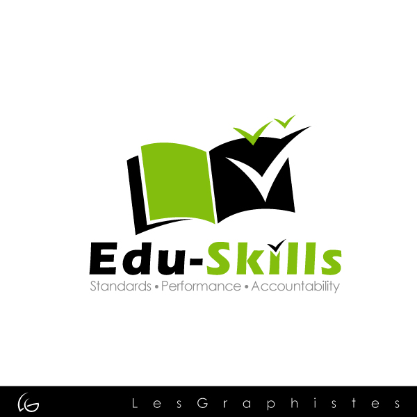 Logo Design by Les-Graphistes - Entry No. 59 in the Logo Design Contest Edu-Skills.