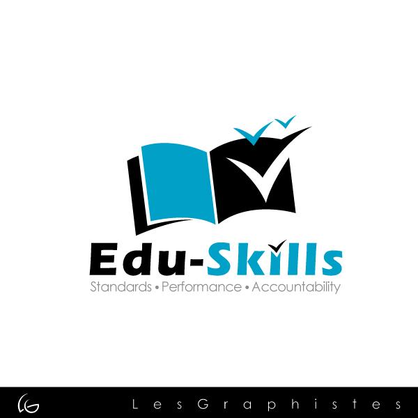 Logo Design by Les-Graphistes - Entry No. 60 in the Logo Design Contest Edu-Skills.