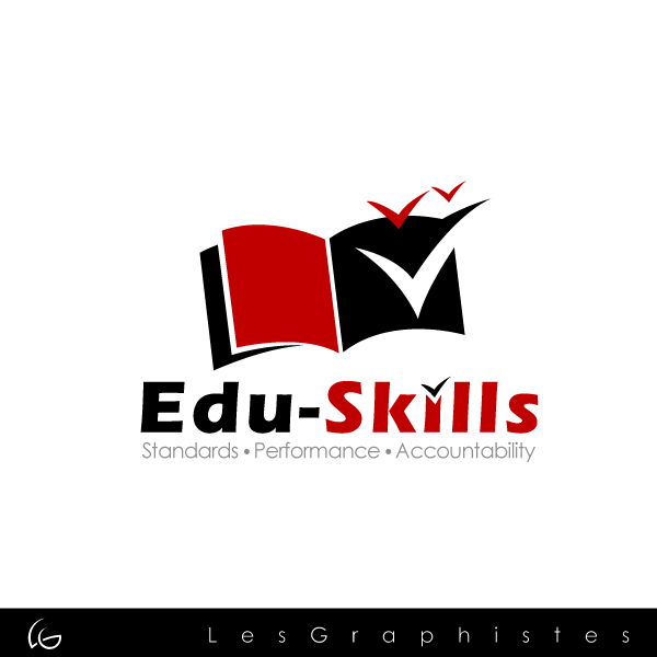 Logo Design by Les-Graphistes - Entry No. 61 in the Logo Design Contest Edu-Skills.