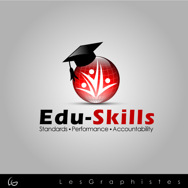 Logo Design by Les-Graphistes - Entry No. 62 in the Logo Design Contest Edu-Skills.