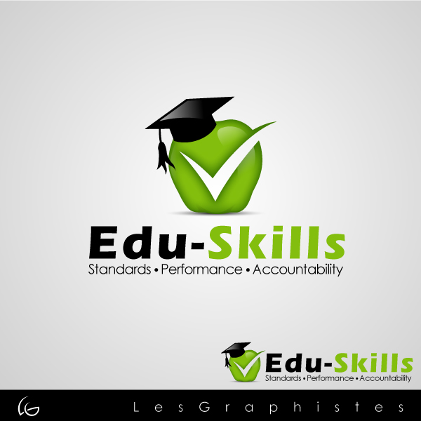Logo Design by Les-Graphistes - Entry No. 63 in the Logo Design Contest Edu-Skills.