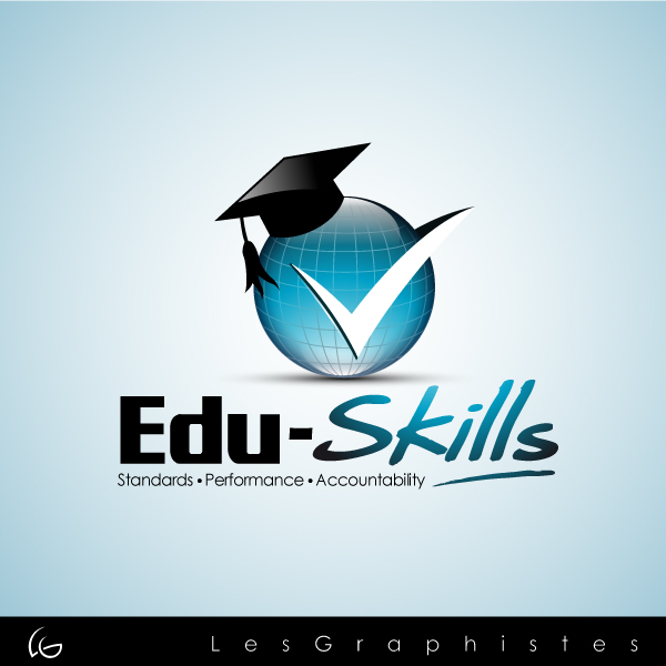 Logo Design by Les-Graphistes - Entry No. 64 in the Logo Design Contest Edu-Skills.