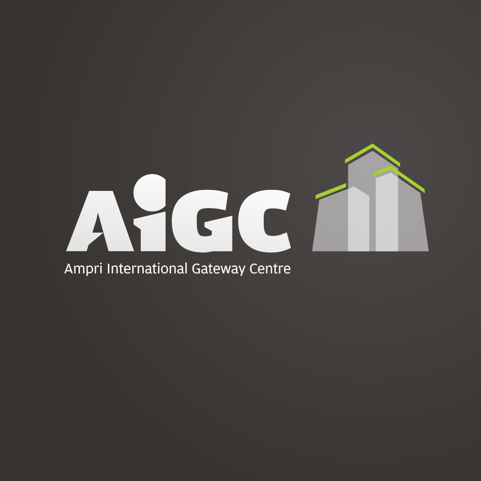 Logo Design by Autoanswer - Entry No. 37 in the Logo Design Contest Ampri International Gateway Centre (AIGC).
