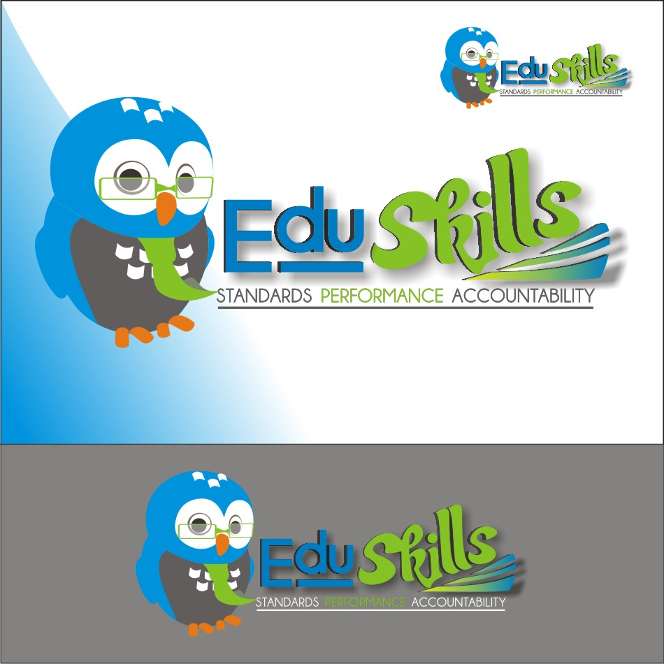 Logo Design by vector.five - Entry No. 67 in the Logo Design Contest Edu-Skills.