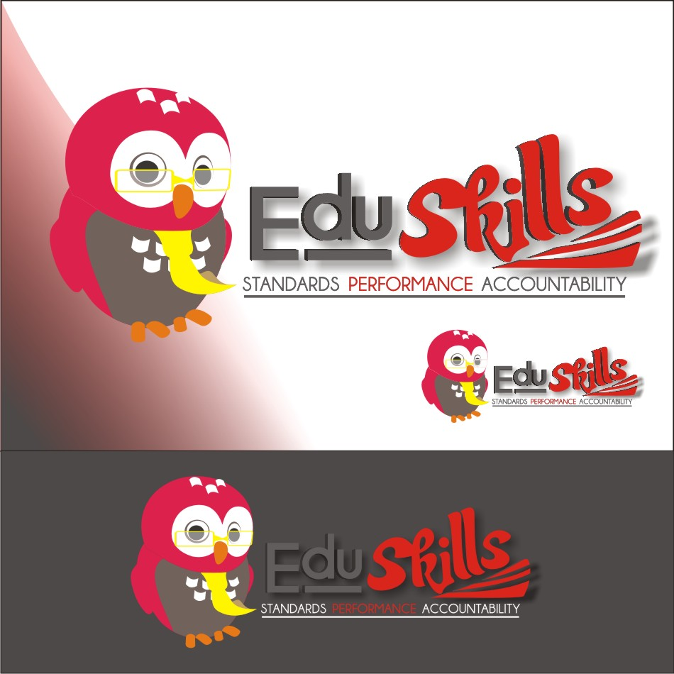 Logo Design by vector.five - Entry No. 68 in the Logo Design Contest Edu-Skills.