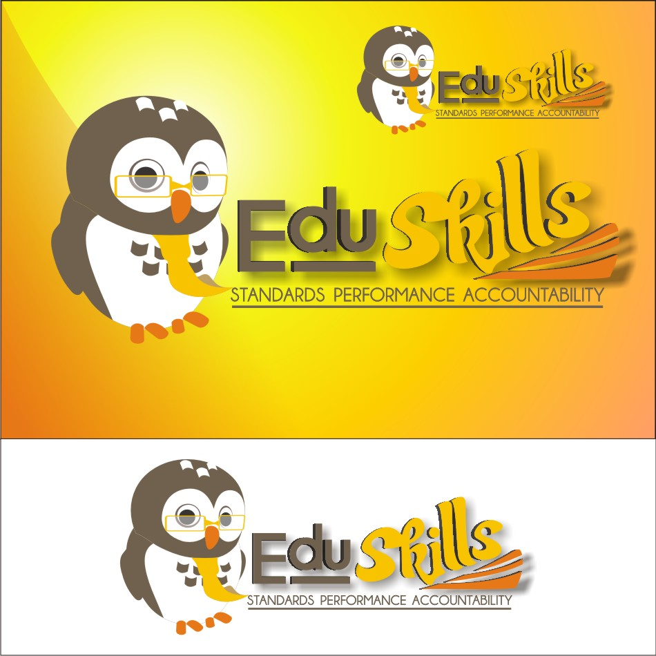 Logo Design by vector.five - Entry No. 69 in the Logo Design Contest Edu-Skills.