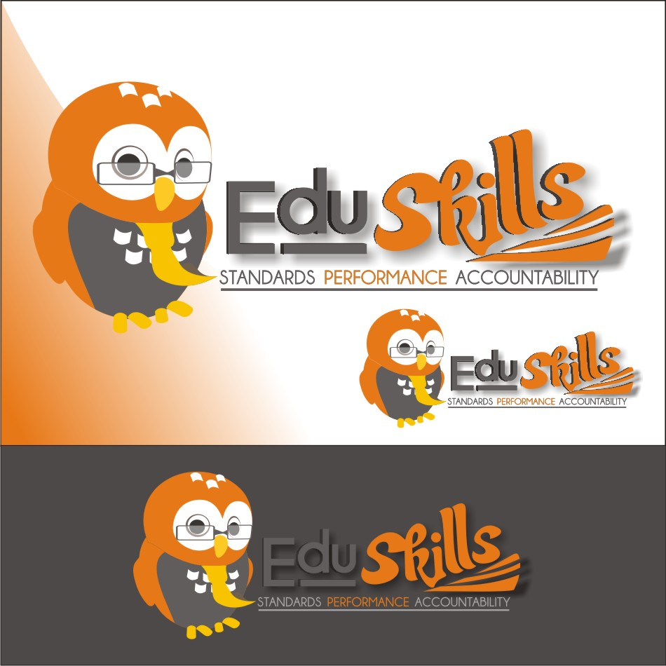 Logo Design by vector.five - Entry No. 70 in the Logo Design Contest Edu-Skills.
