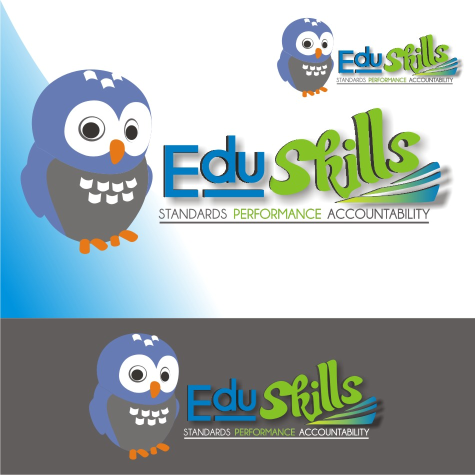 Logo Design by vector.five - Entry No. 71 in the Logo Design Contest Edu-Skills.