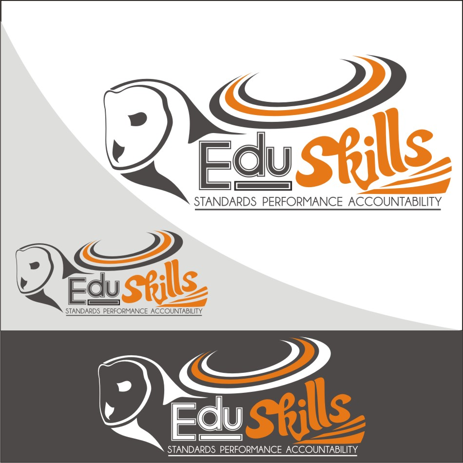 Logo Design by vector.five - Entry No. 72 in the Logo Design Contest Edu-Skills.