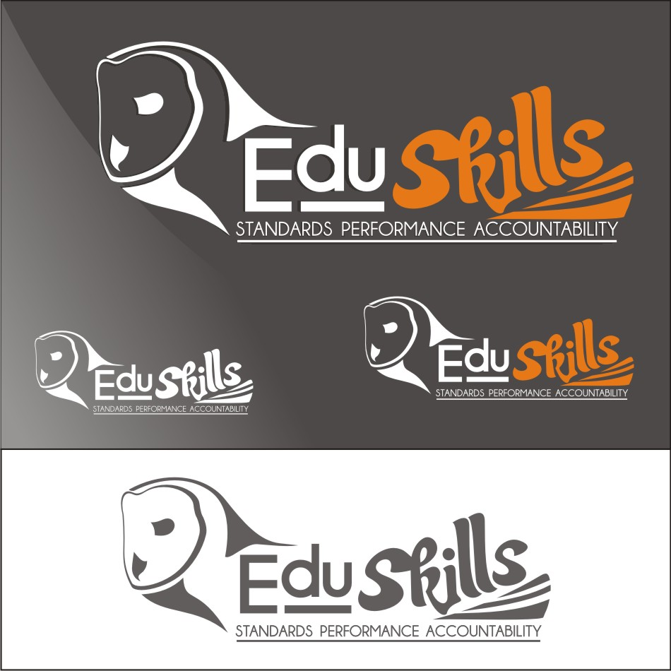 Logo Design by vector.five - Entry No. 74 in the Logo Design Contest Edu-Skills.
