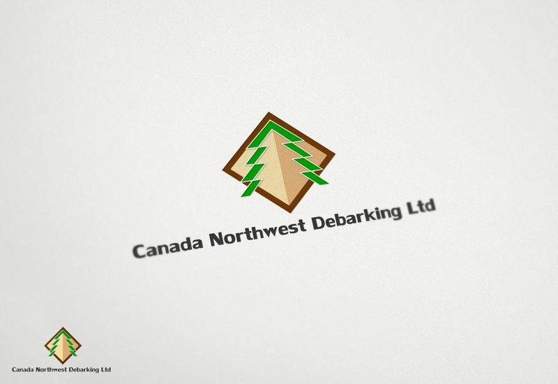Logo Design by Private User - Entry No. 19 in the Logo Design Contest Creative Logo Design for Canada Northwest Debarking Ltd..