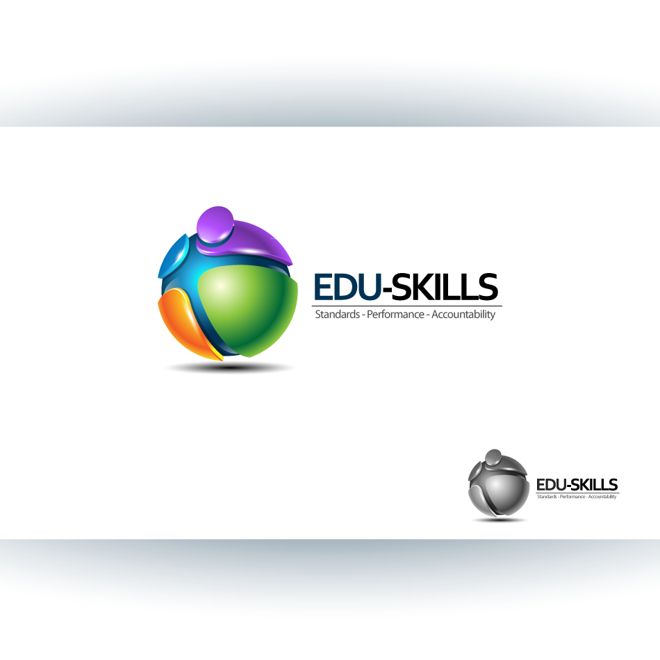 Logo Design by zesthar - Entry No. 86 in the Logo Design Contest Edu-Skills.
