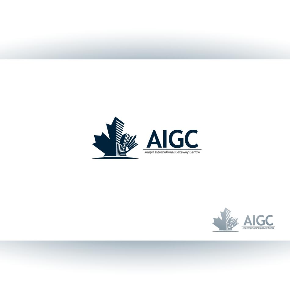 Logo Design by zesthar - Entry No. 40 in the Logo Design Contest Ampri International Gateway Centre (AIGC).