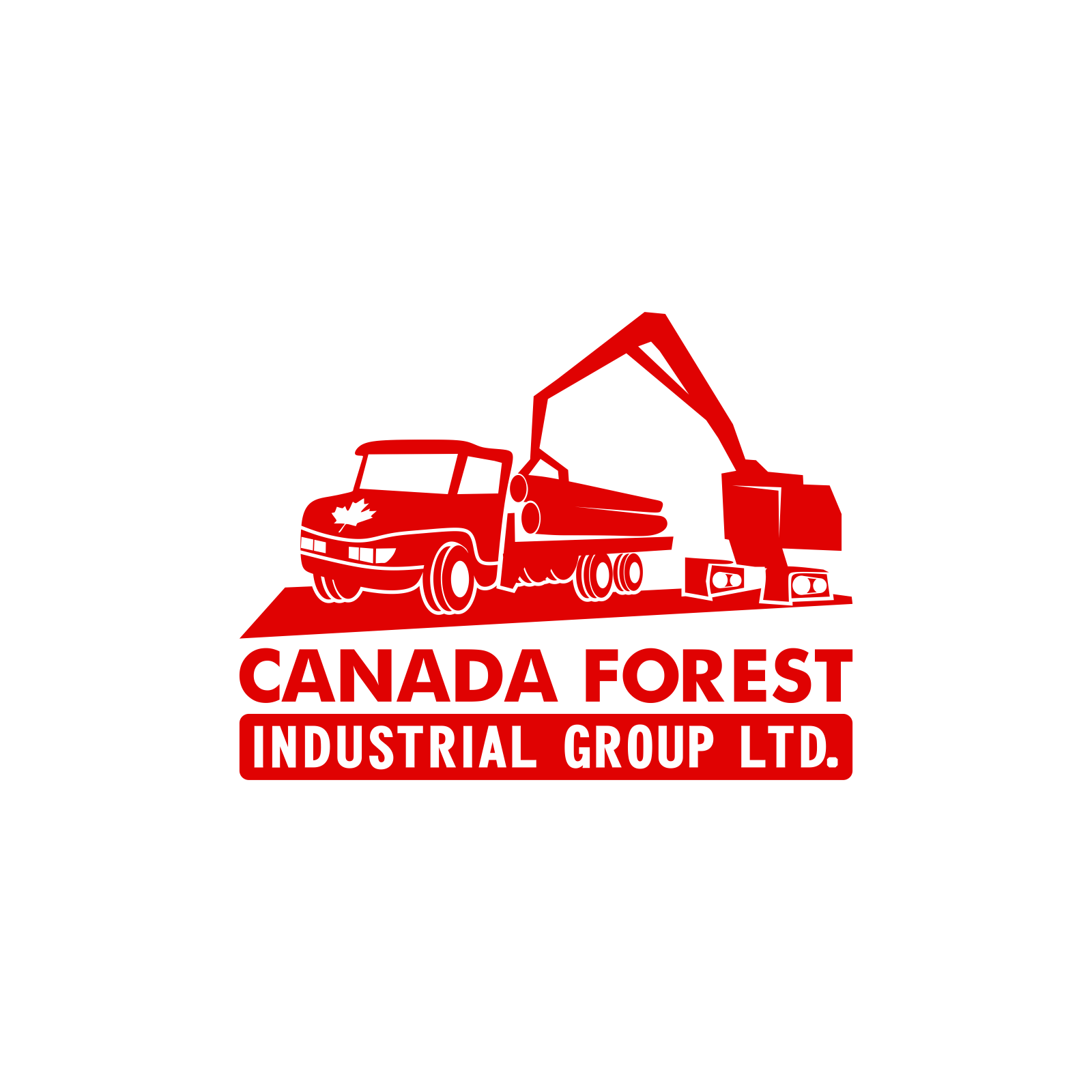 Logo Design by moisesf - Entry No. 75 in the Logo Design Contest Creative Logo Design for Canada Forest Industrial Group Ltd..